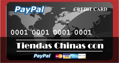 tiendas chinas que aceptan paypal