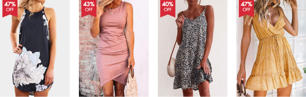 tiendas online de ropa - vestidos de china