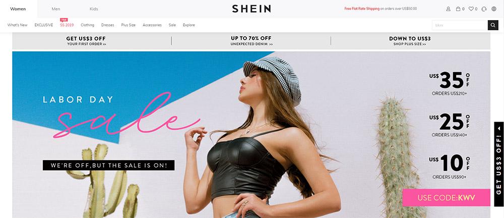 ropa de china shein