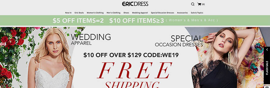 tienda china online ericdress