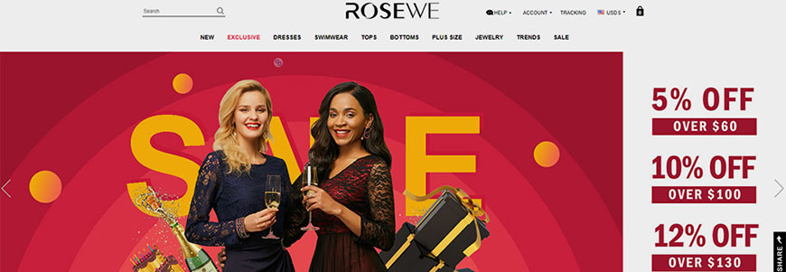 comprar en rosewe