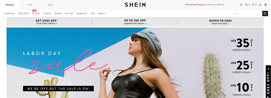 comprar en shein
