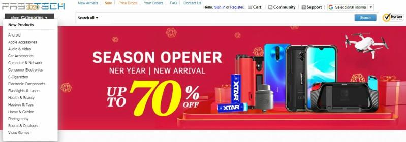 Fasttech tienda china online